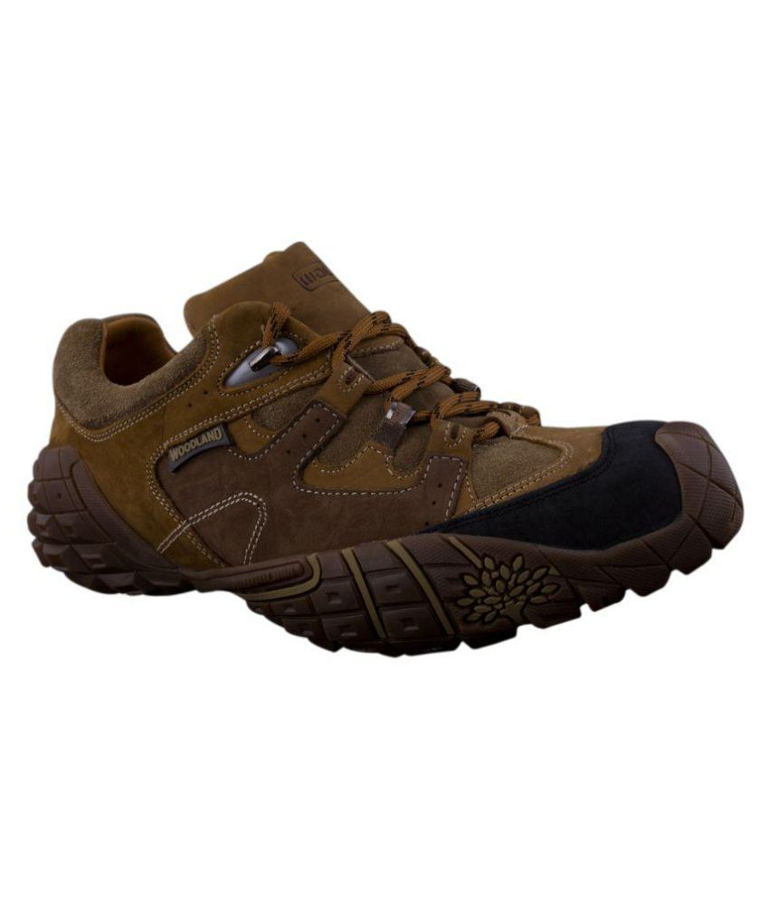 Woodland Gc 0926110y15 Outdoor Brown Casual Shoes