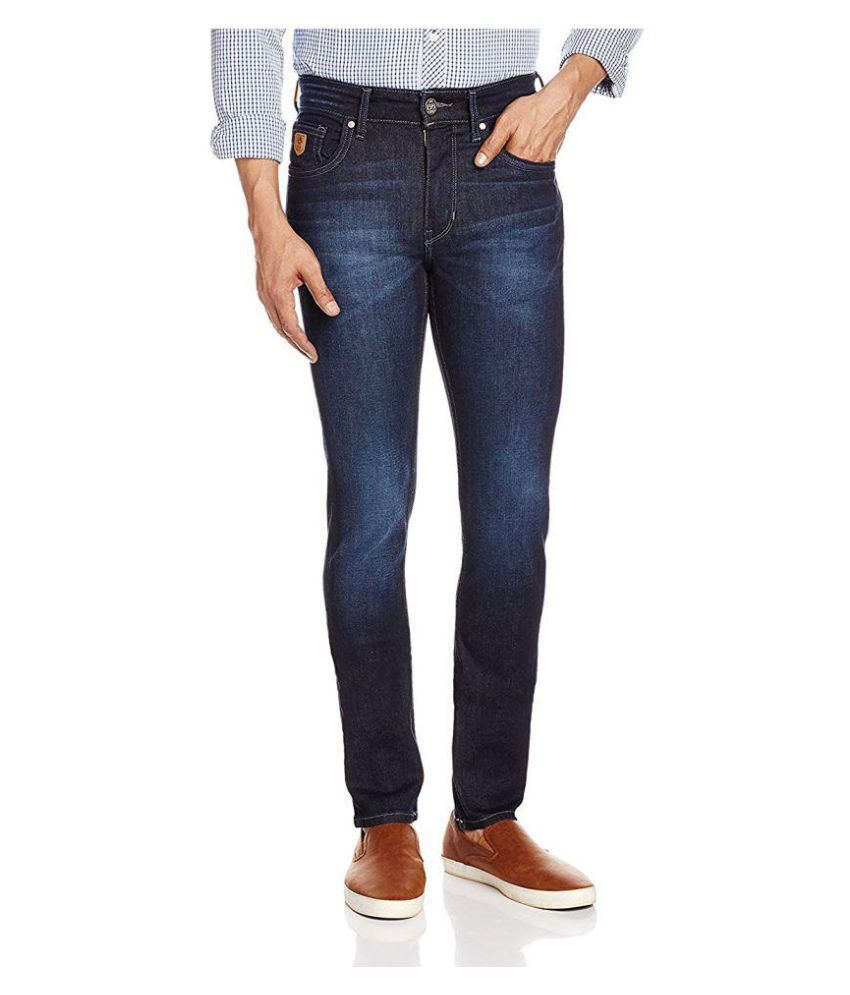 U.S. Polo Assn. Blue Skinny Faded