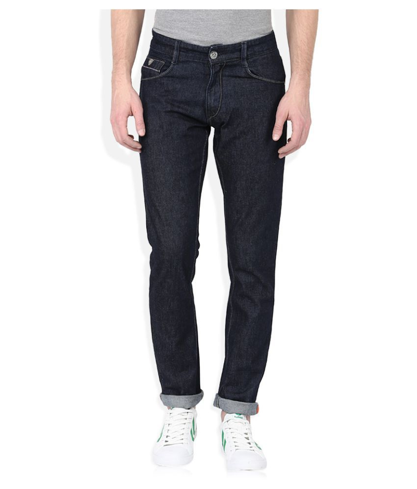 John Players Blue Skinny Solid