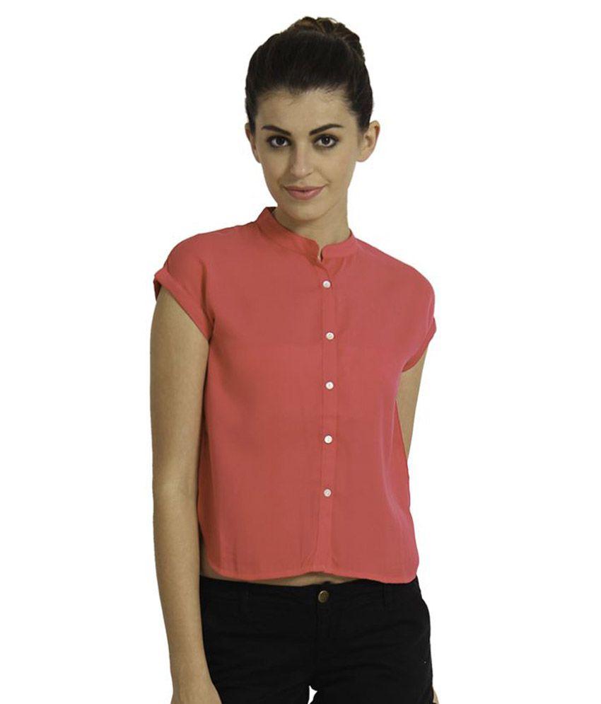 Alibi Poly Crepe Shirt