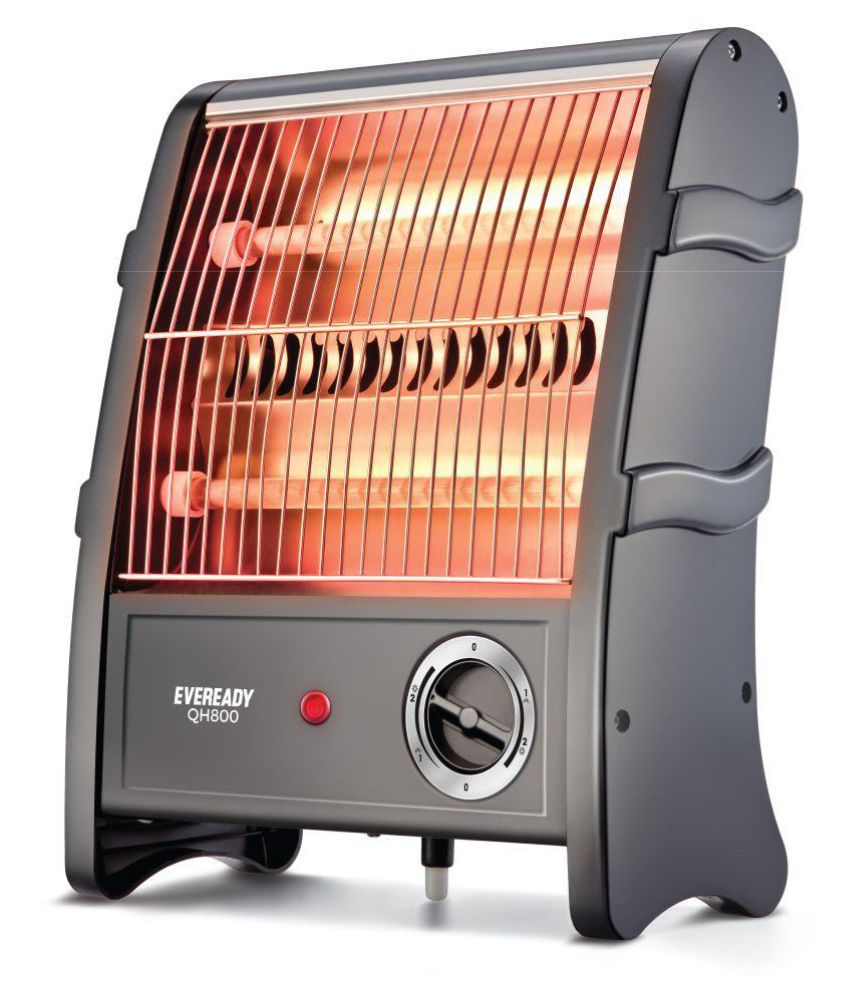 Eveready Qh800 800w Quartz Heater Black Buy Eveready