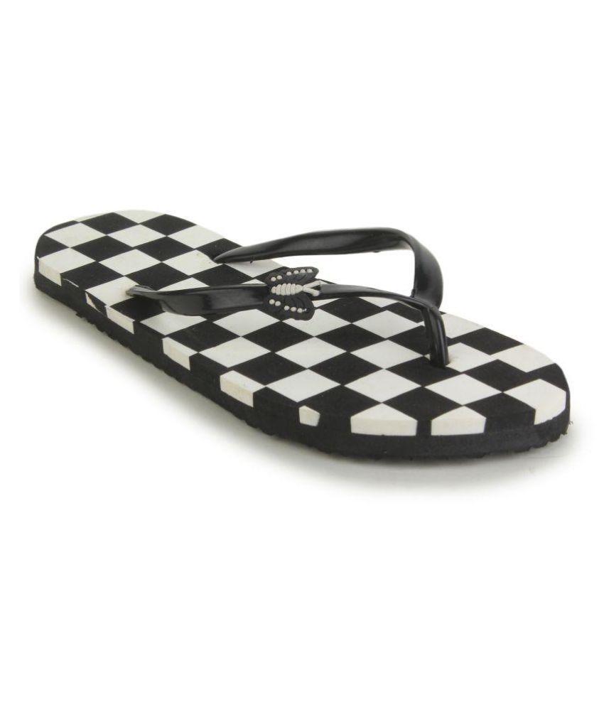 Sindrella Steps Black Slippers