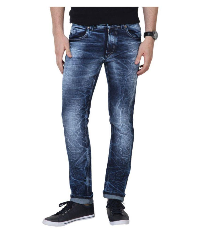 Superx Blue Skinny Solid