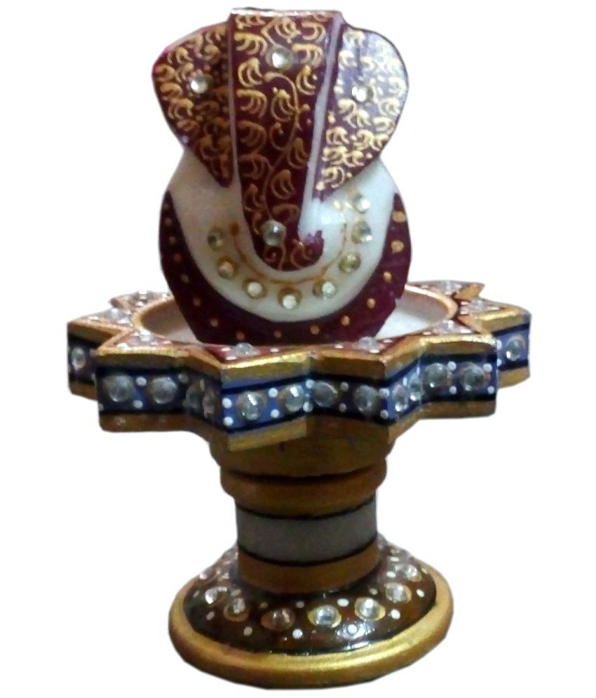 Craftzone Ganesha Marble Idol