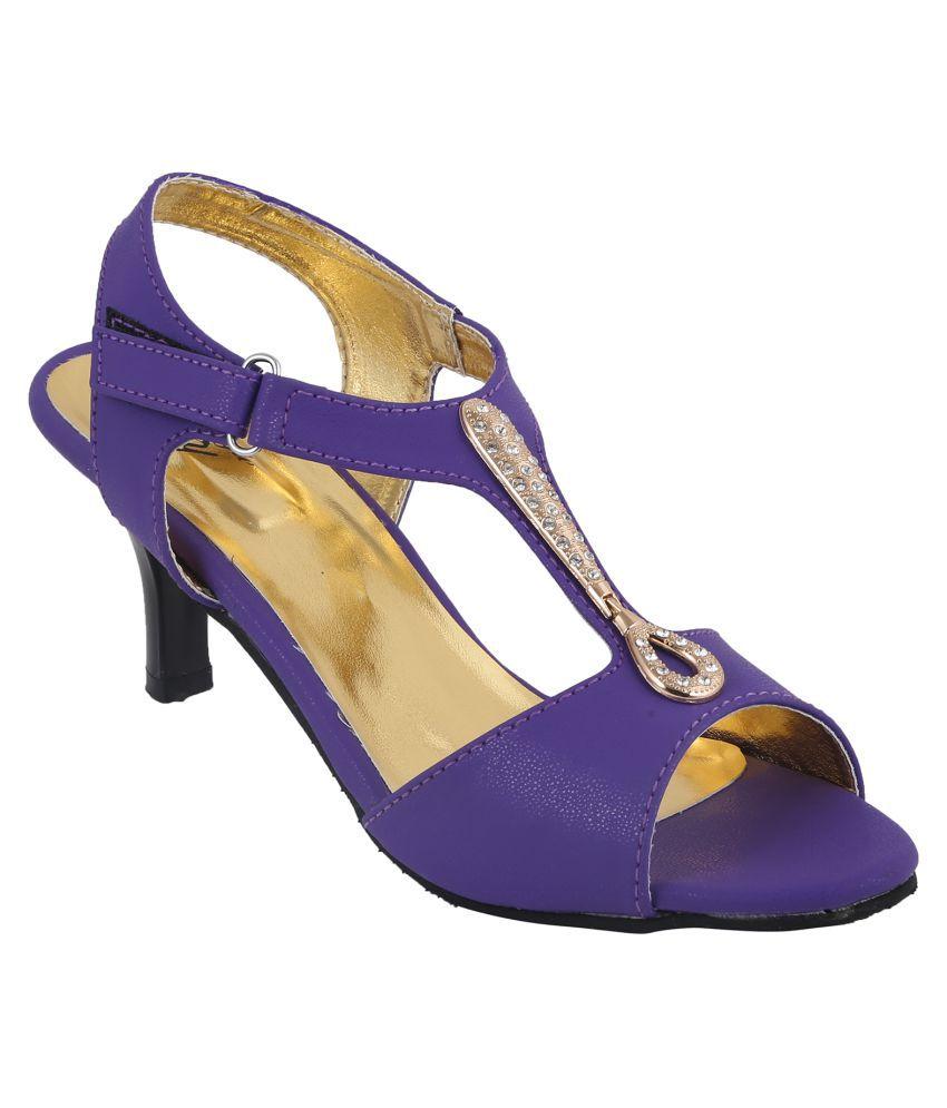 Style Buy Style Purple Heels