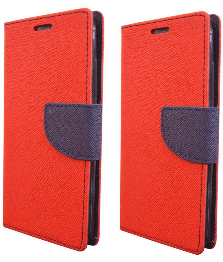 Lenovo A2010 Flip Cover by Rdcase - Multi