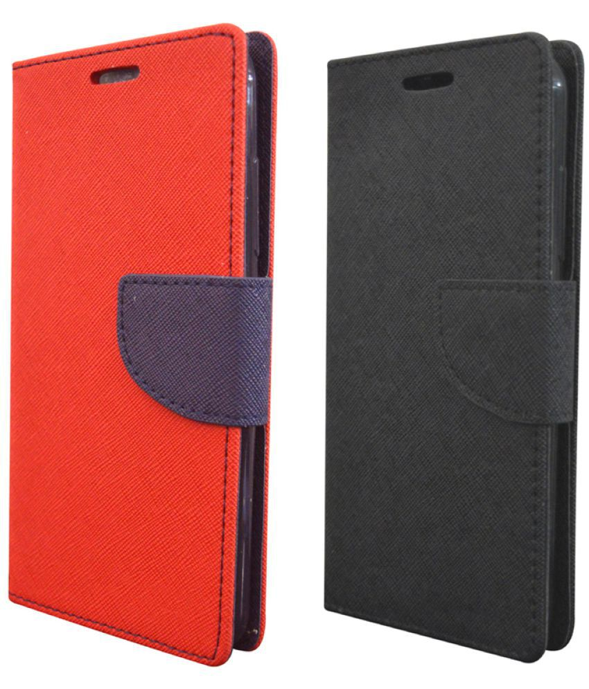 Micromax Canvas Juice 2 Flip Cover by coverage - Multi