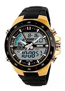 Skmei Black Strap Analog-Digital Watch