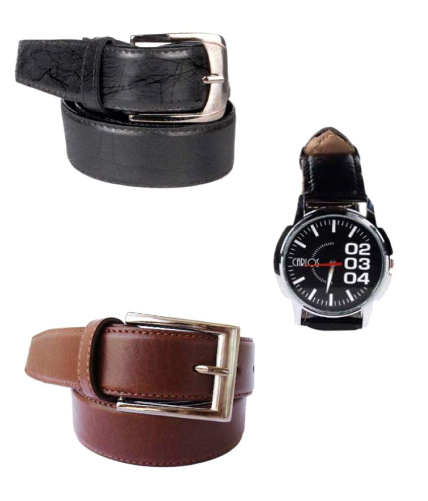 Klaska Multi Leather Casual Belts