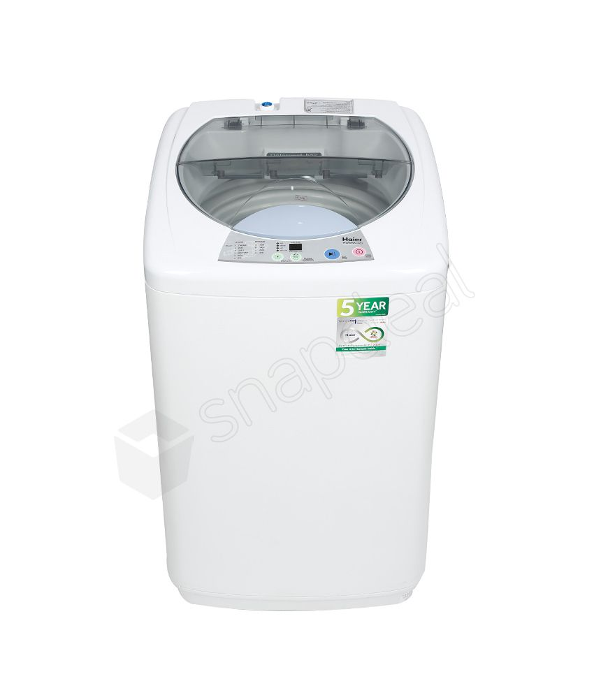 Haier 5 8 Kg HWM 58-020 Fully Automatic Top Load Washing Machine - White
