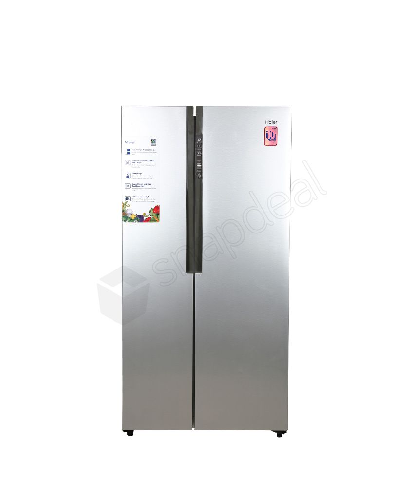 haier 565 ltr hrf 618ss side by side refrigerator stainless steel price in india buy haier. Black Bedroom Furniture Sets. Home Design Ideas