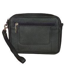 Style 98 Stylish Leather Black Waist Pouch