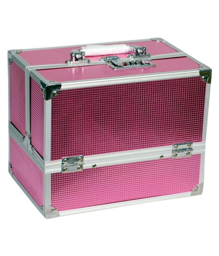 Bonanza Pink Aluminium Jewellery Box