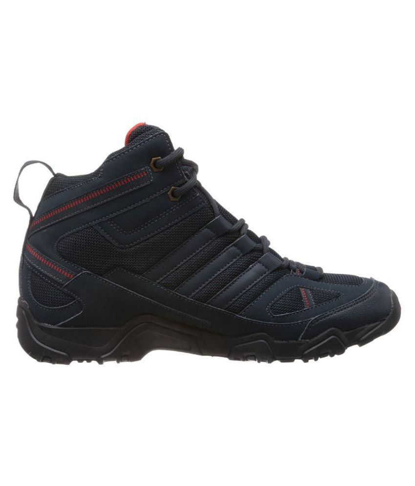 Adidas Xaphan Mid Blue Hiking Shoes