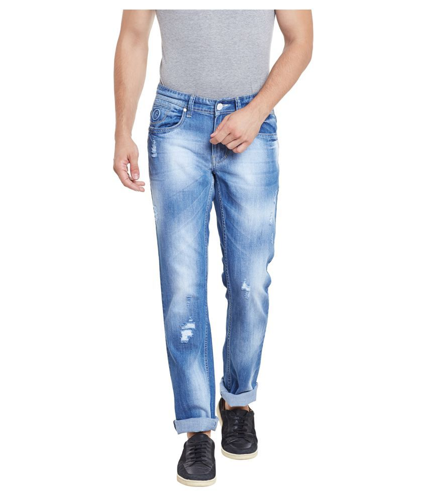 Canary London Blue Straight Washed