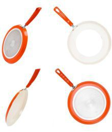 Nirlon Ceramic Ceramic Combo 2pieces Cookware Set Cookware Set 2 Cookware Sets