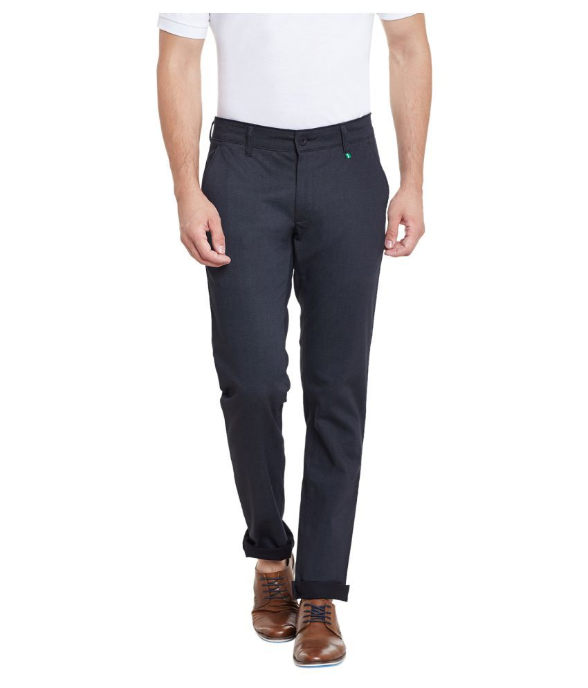 Canary London Black Slim Flat Trouser