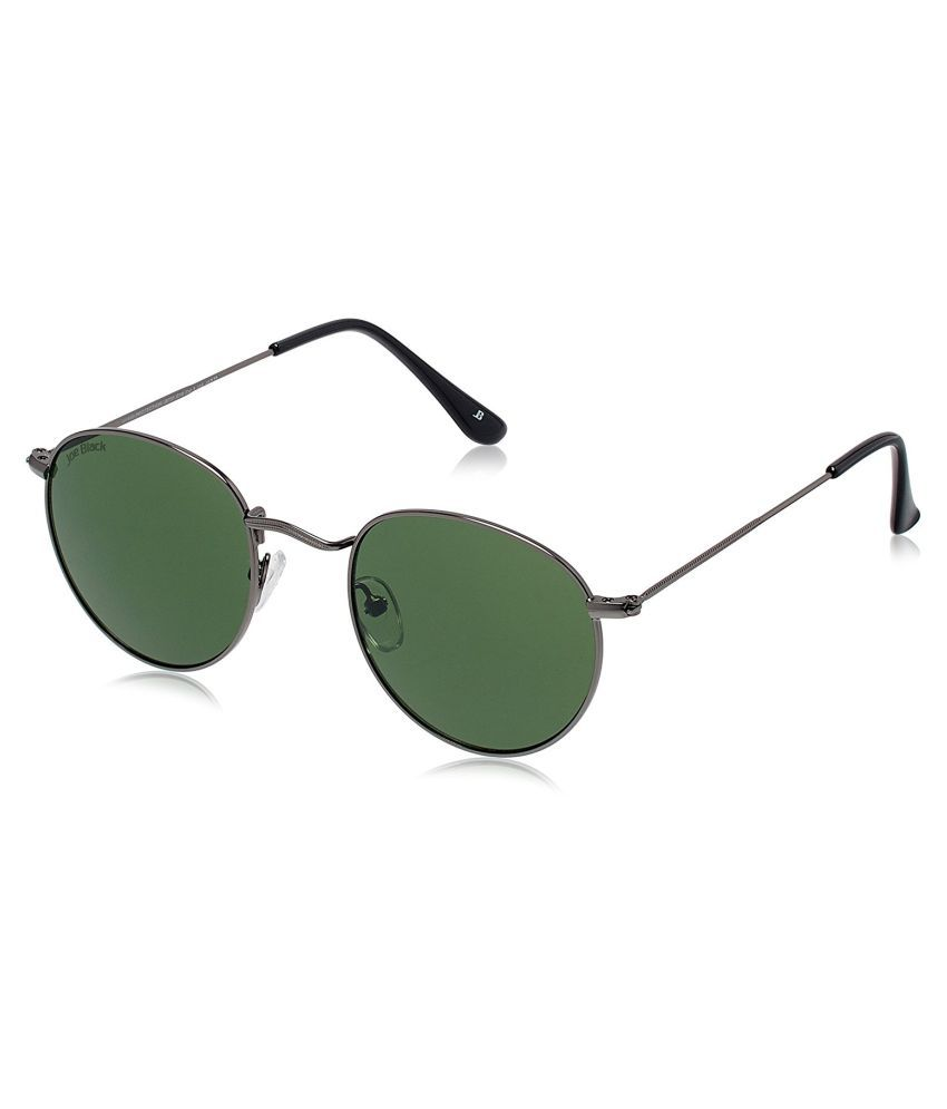 Joe Black Green Round Sunglasses ( JB-731-C10 )