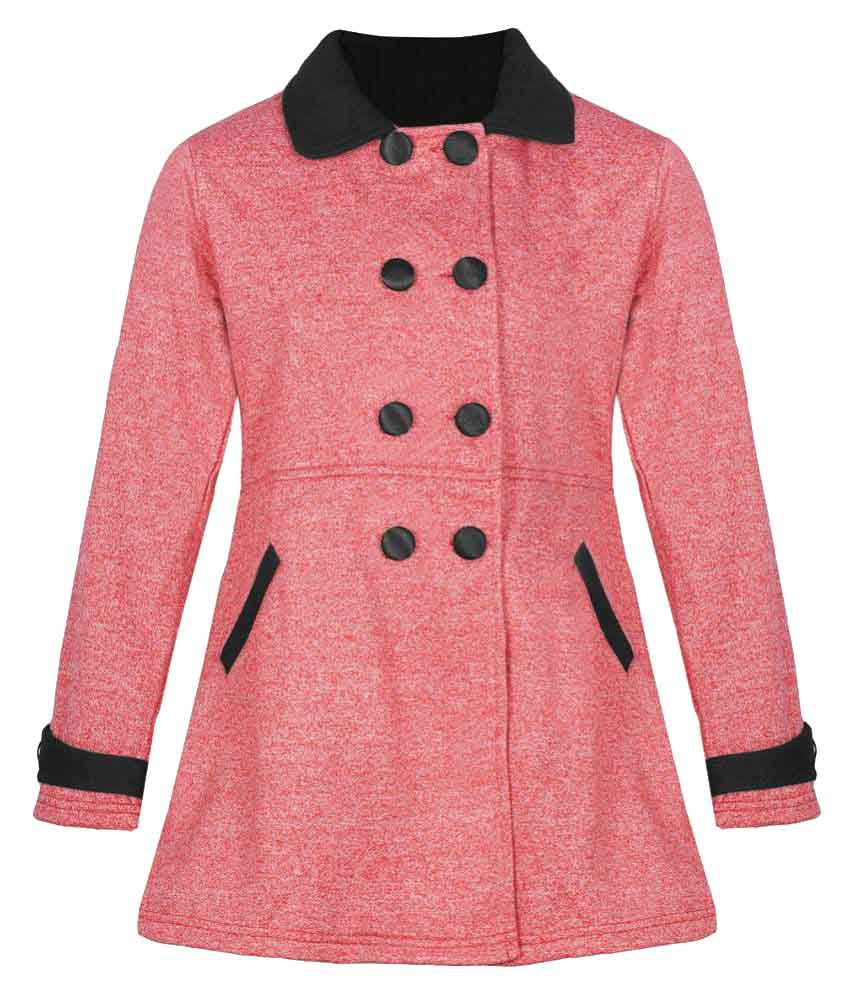Naughty Ninos Red Cotton Blend Jacket
