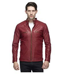 eb6ab1e45fca Leather Mens Jackets :Buy Leather Mens Jackets Online at Low Prices ...