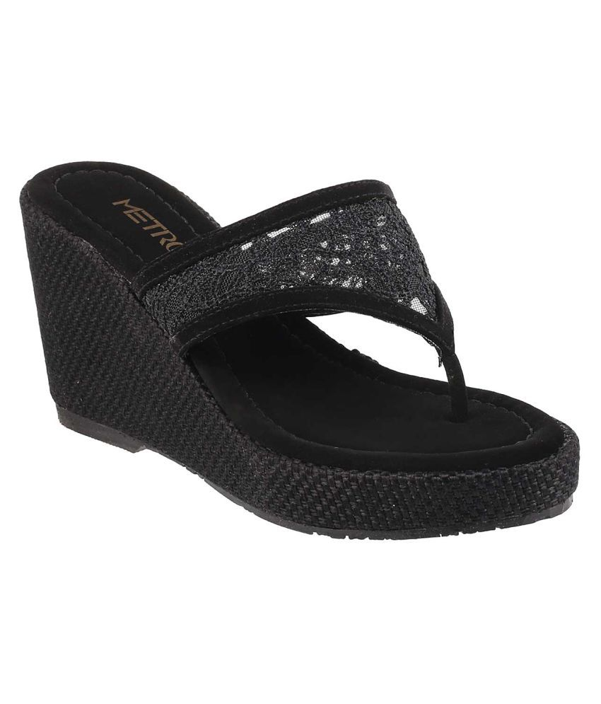 METRO BLACK Heels