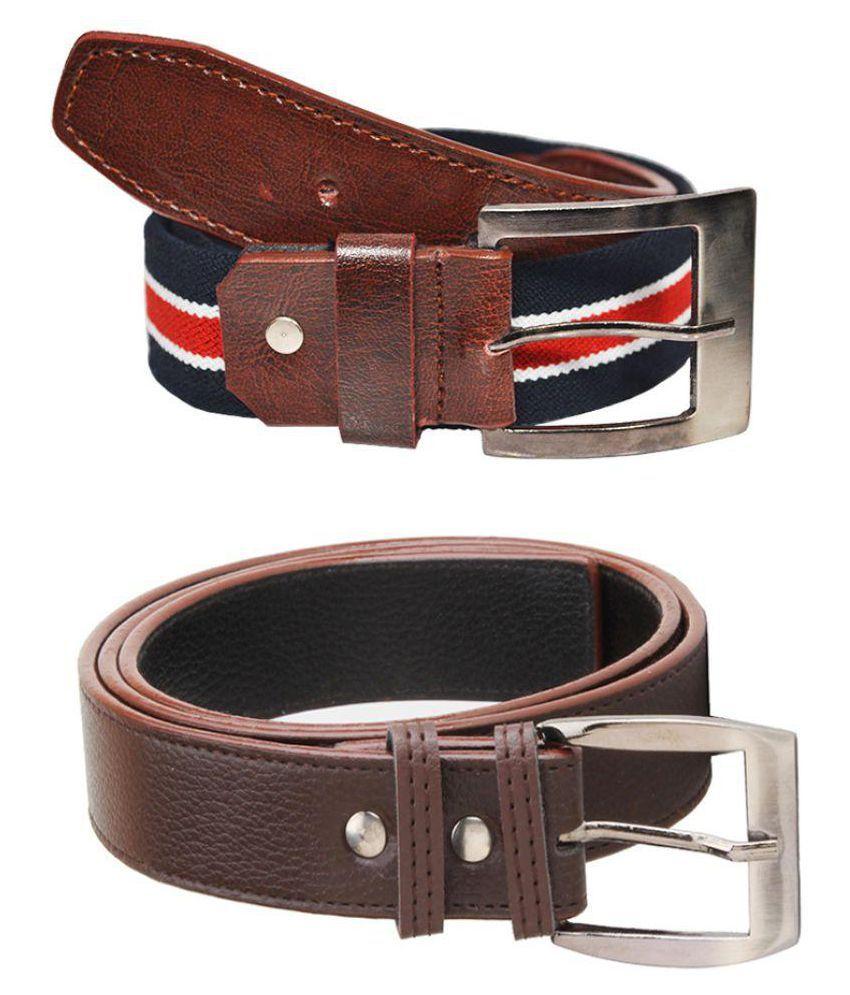 Elgator Multi Fabric Casual Belts