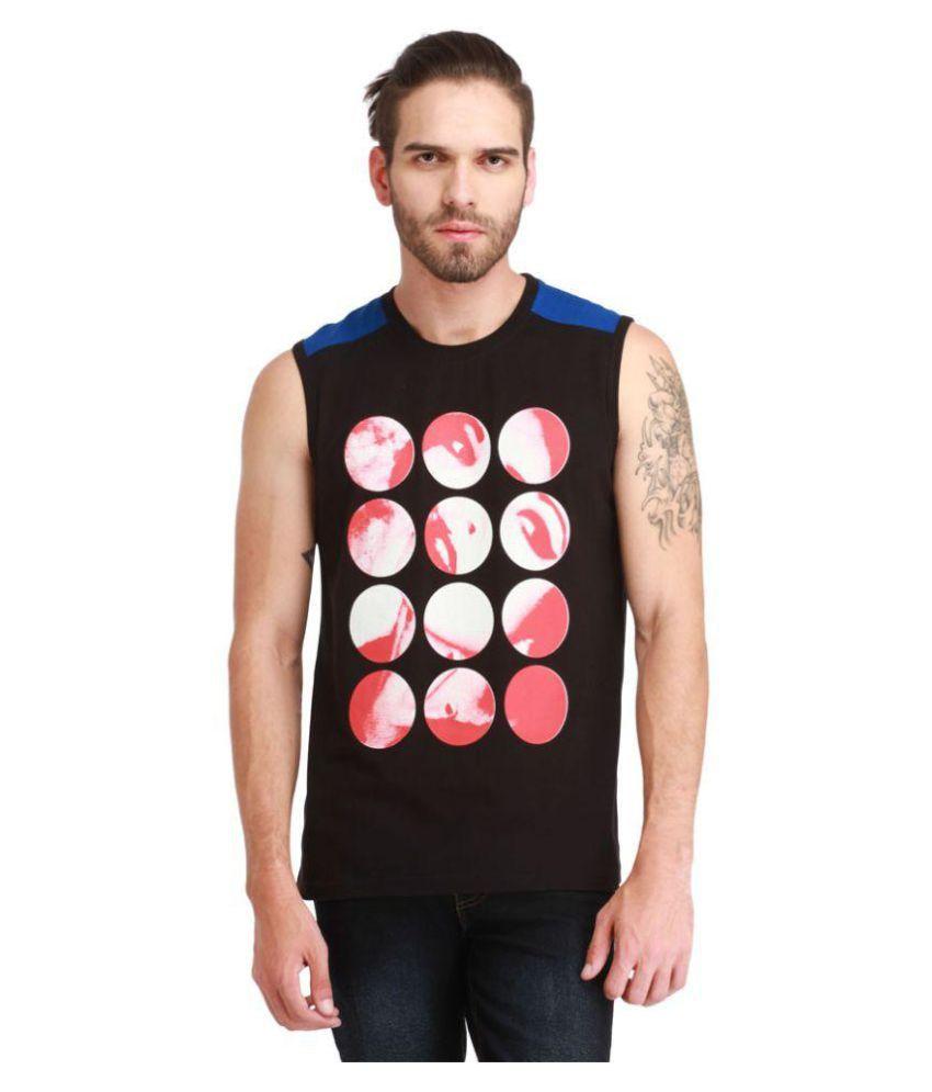 Rockhard Black Round T-Shirt