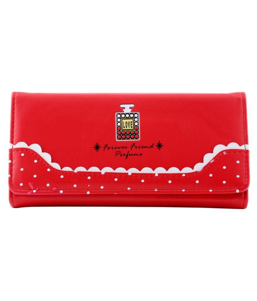 Femethnic Red Wallet