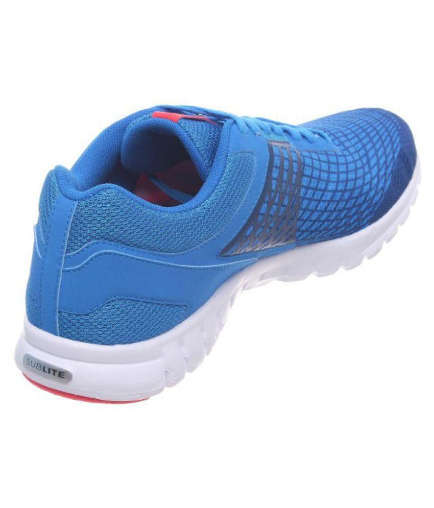 ... Reebok Sublite Escape Shoes Blue Running Shoes ...