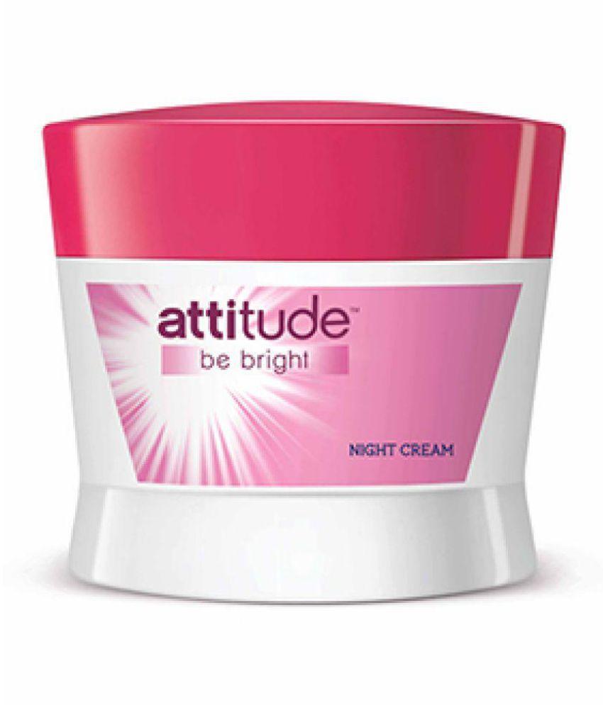 amway attitude be bright night cream 50 gm buy amway attitude be