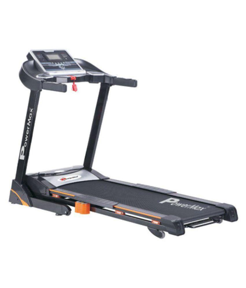 Powermax Fitness Tda-310 Motorized Treadmill 2 75hp Continuous Duty Dc Motor