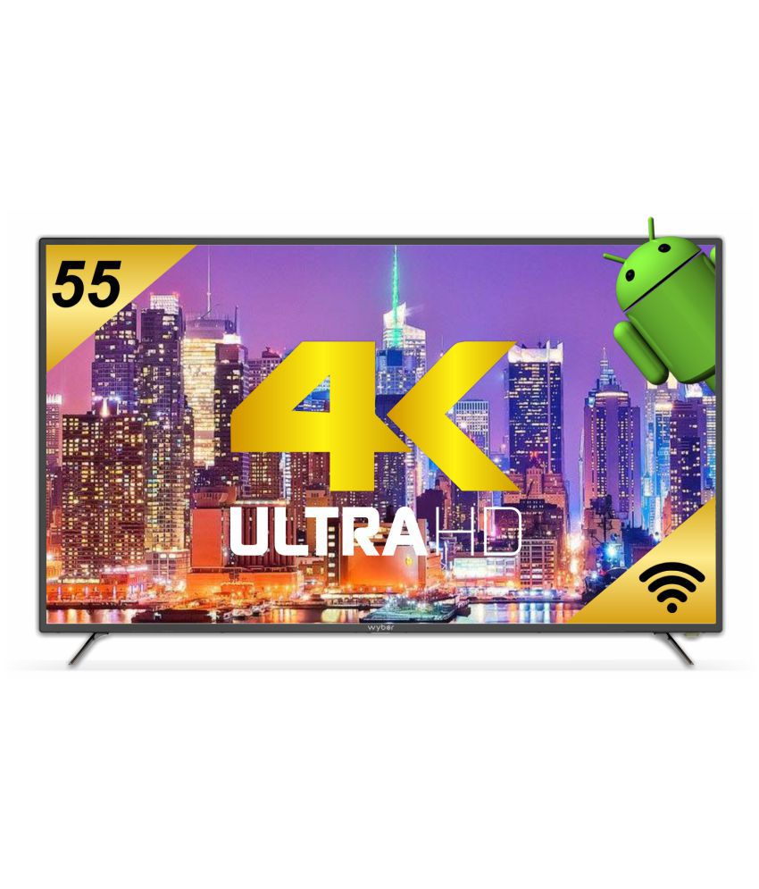 Wybor W55MS164K 55 Inch Smart Ultra HD 4K LED TV