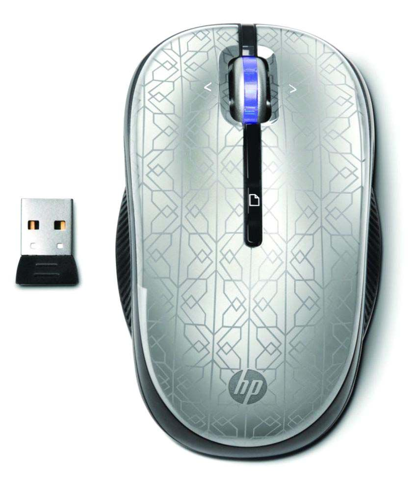 HP WE790AAABA Silver Wireless Mouse