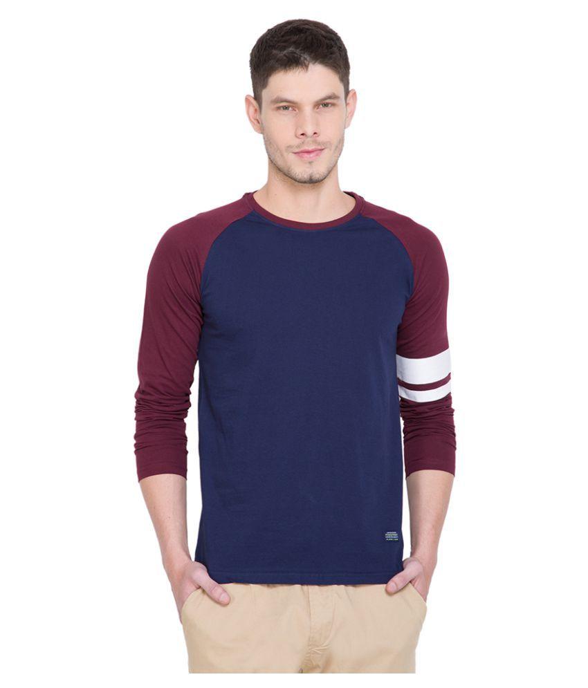 Highlander Navy Round T-Shirt