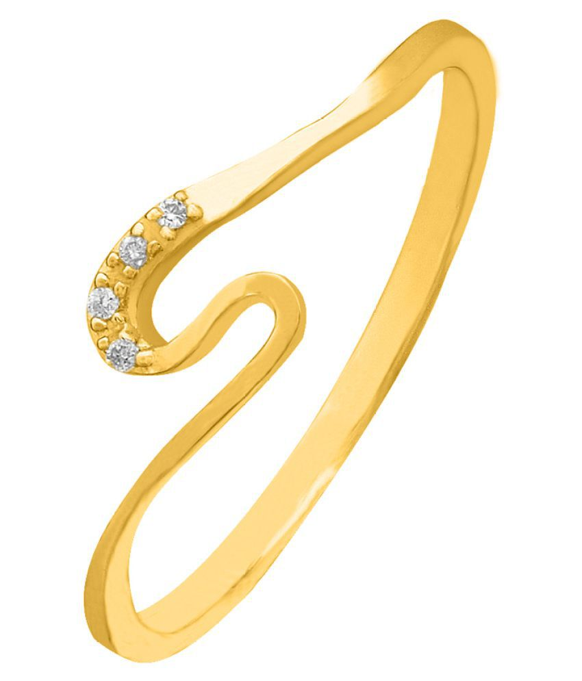 His & Her 18K Yellow Gold Diamond Ring