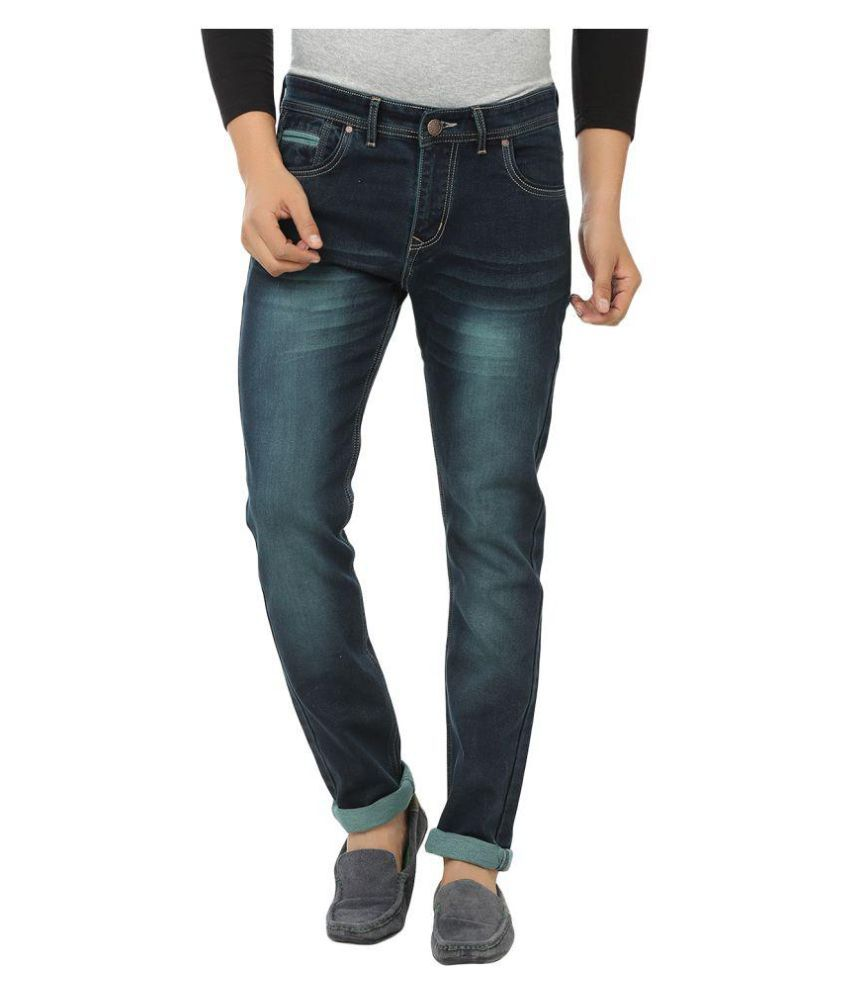 Stylox Green Slim Washed
