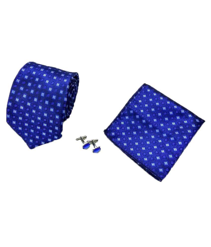 Classique Blue Formal Necktie