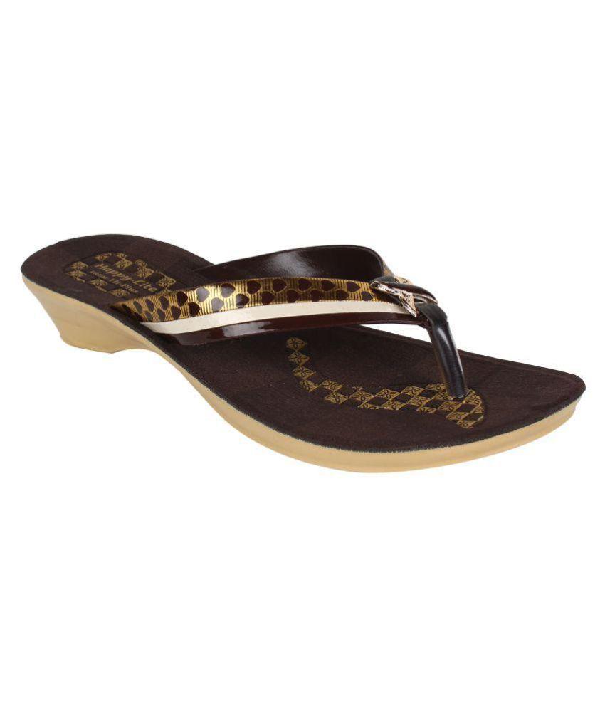 Super Matteress Brown Slippers
