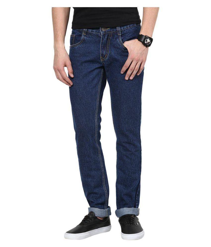 SuperX Blue Regular Fit Basic