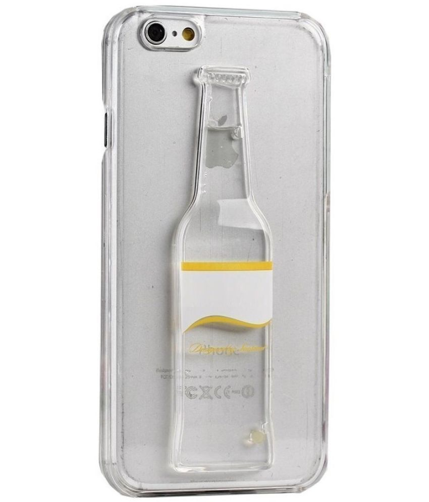 wholesale dealer b3caf 44f59 Apple iPhone 5S Liquid Filled Soft Cover by senshi - Transparent ...
