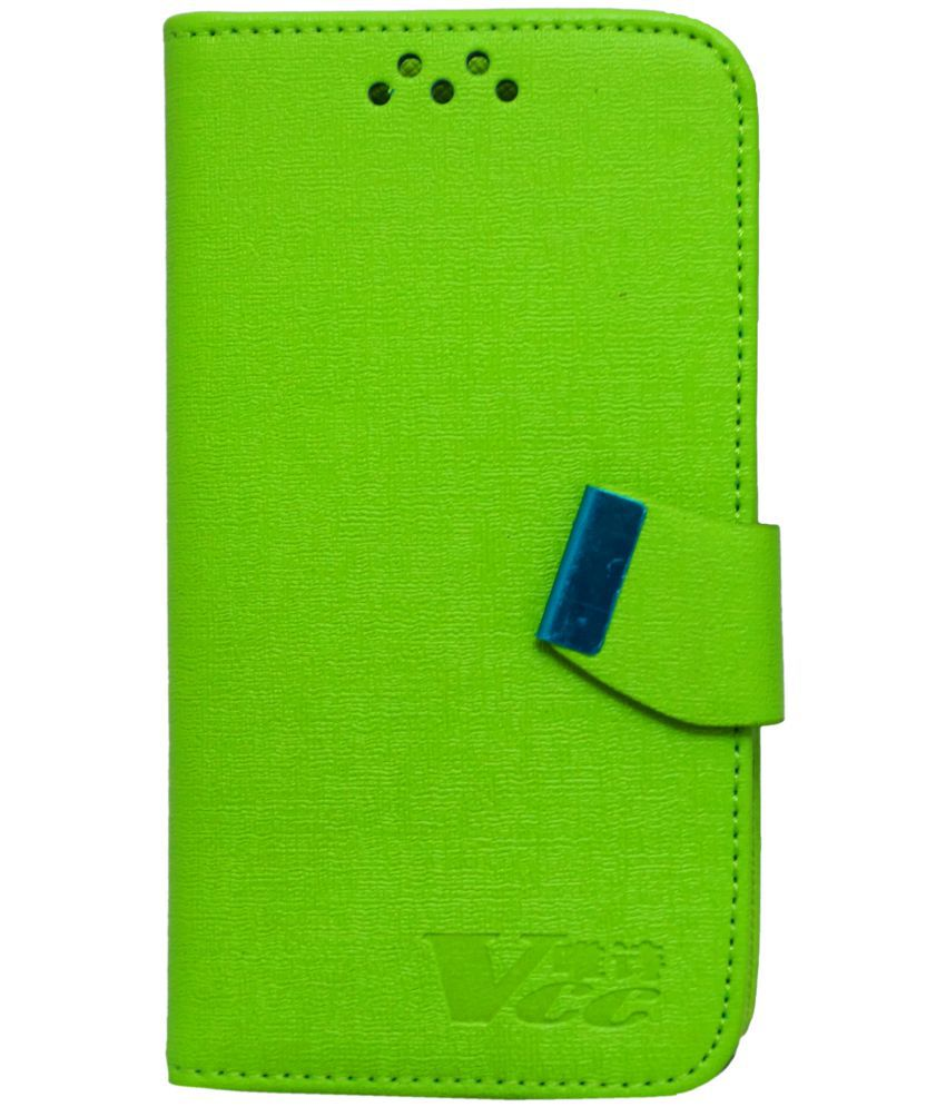 Xiaomi Redmi 1S Flip Cover by GEOCELL - Green