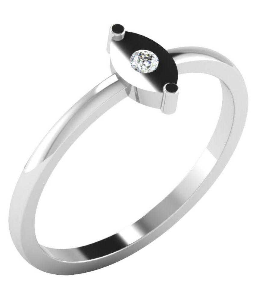 His & Her 9K Rose Gold Diamond Ring