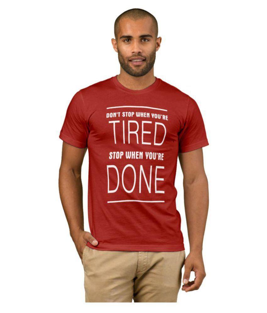 ZeniuZ Red Round T-Shirt