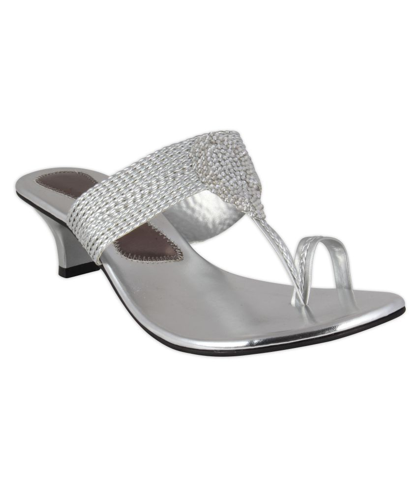 Xqzite Silver Heels