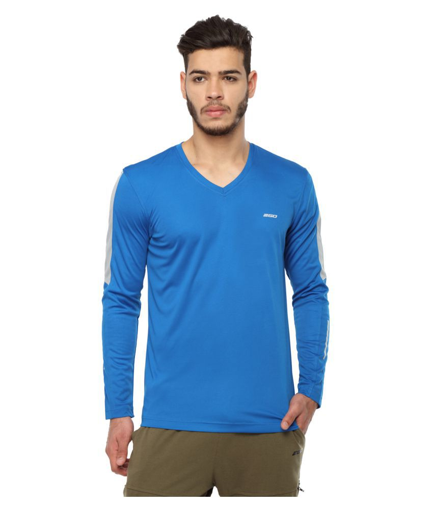2go Blue V-Neck T-Shirt