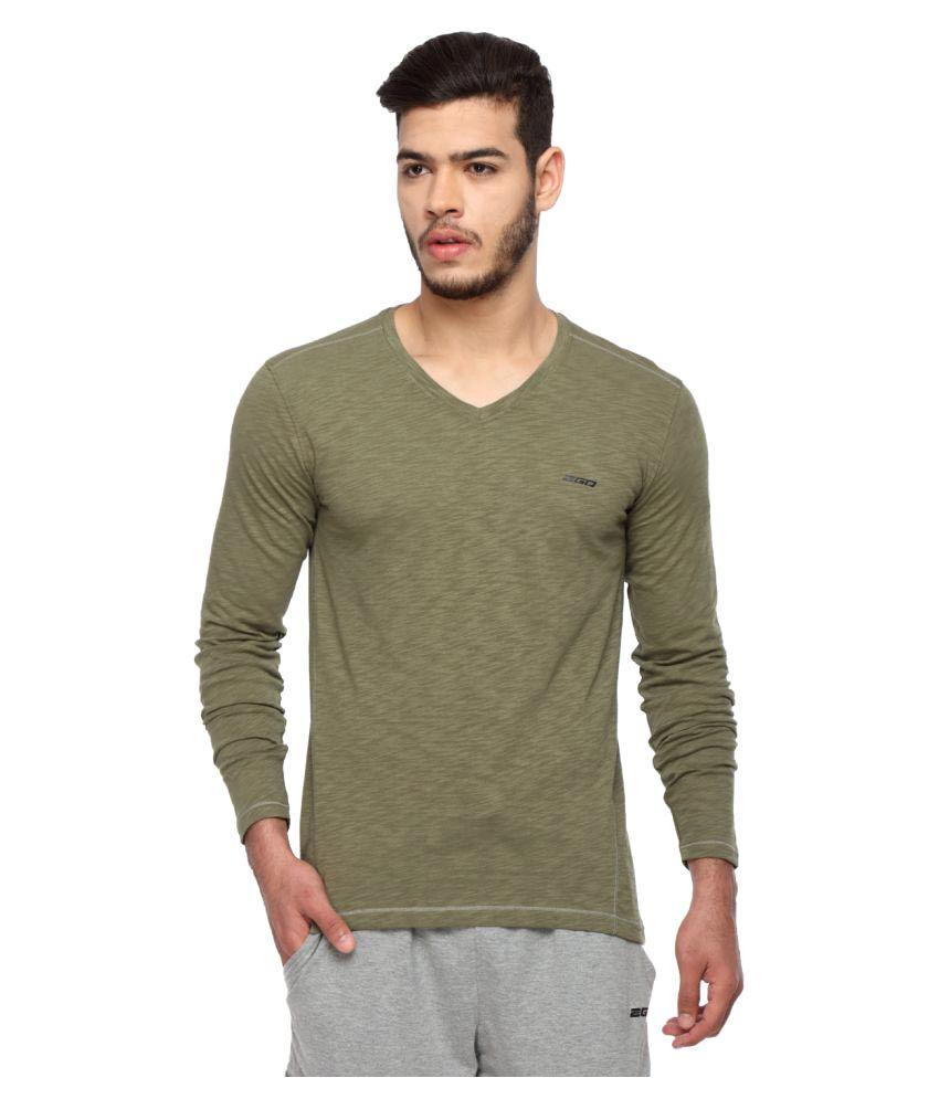 2go Green V-Neck T-Shirt