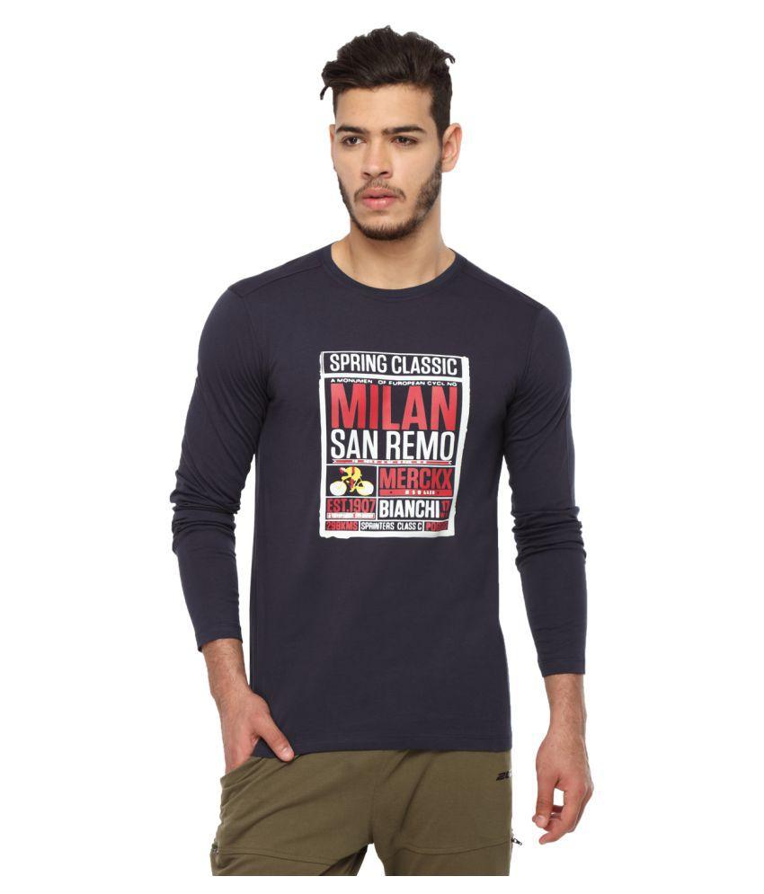 2go Navy Round T-Shirt