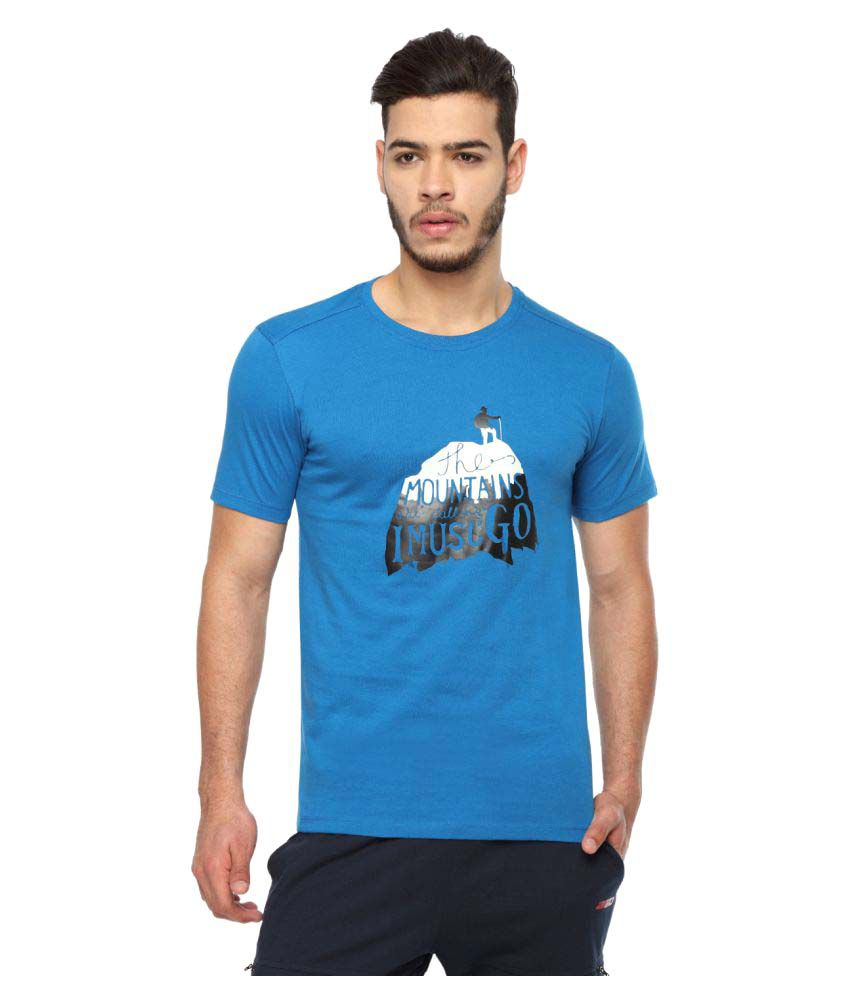 2go Blue Round T-Shirt