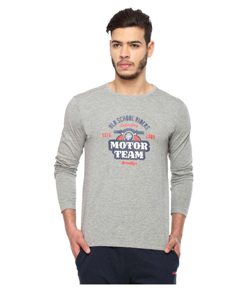 2go Grey Round T-Shirt