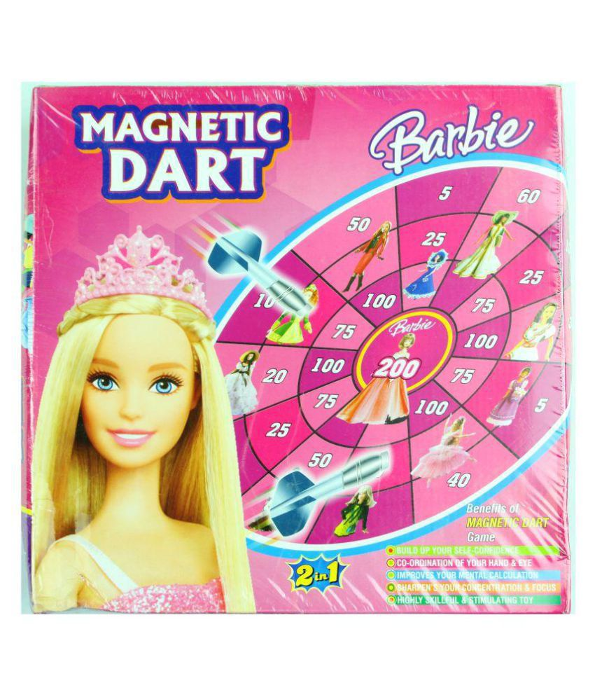 PleaseDaddy Barbie Magnetic Dart Game